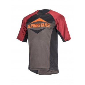 ALPINESTARS MESA SS JERSEY BLACK RIO RED