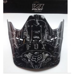 Daszek Do Kasku Fox V-1 Empire Visor Black