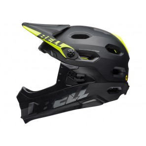 Bell Super DH MIPS kask-limonkowy-L