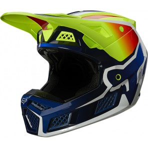 Kask FOX V-3 RS Wired yellow