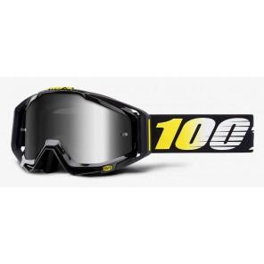 Gogle 100% RACECRAFT COSMOS 99 (Szyba Srebrna Lustrzana Anti-Fog + Szyba Przezroczysta Anti-Fog + 10 Zrywek)