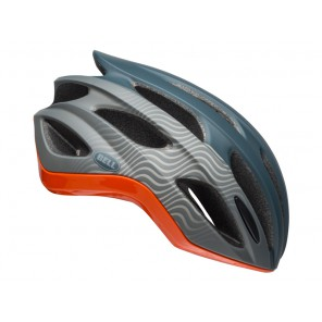 Kask szosowy BELL FORMULA INTEGRATED MIPS tsunami matte gloss slate gray orange roz. M (55-59 cm) (NEW)