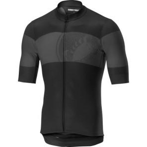 Koszulka kolarska Ruota, czarna, rozmiar XXL