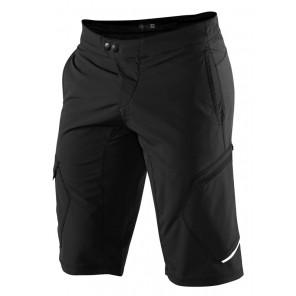 Szorty męskie 100% RIDECAMP Shorts black