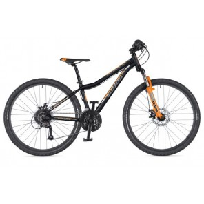 """A-MATRIX 26 DISC 13,5"""" czarno(mat)/pomarańczowy(fluo), rower AUTHOR'19"""
