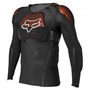 Koszulka z ochraniaczem FOX Baseframe Pro D3O czarny