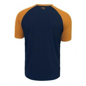 Koszulka ROCDAY Peak granatowy/brązowy