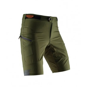 Leatt Spodenki Shorts Dbx 1.0 Forest Kolor Zielony