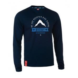 Bluza MOUNT NEW SANITIZED® RECYCLED granatowy S