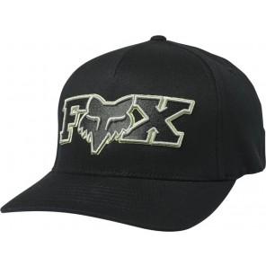 Czapka Z Daszkiem Fox Ellipsoid Flexfit Black/green S/m