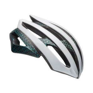 Kask szosowy BELL STRATUS INTEGRATED MIPS circuit matte gloss white black mint roz. M (55-59 cm) (NEW)