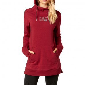 Bluza Fox Lady Z Kapturem Eager Dark Red M
