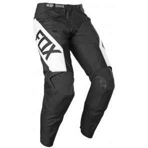 FOX SPODNIE  JUNIOR 180 REVN BLACK/WHITE Y26
