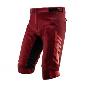 Leatt Spodenki Shorts Dbx 4.0 Ruby Kolor Bordowy