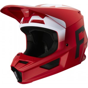 Kask Fox V-1 Werd Flame Red