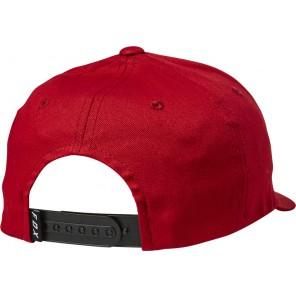 Czapka z daszkiem FOX Legacy Moth 110 Snapback czerwony
