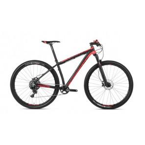 """Accent Rower MTB 29"""" PEAK GX czarno-czerwony S (inny rozmiar opon, manetka, łańcuch, obręcze)"""