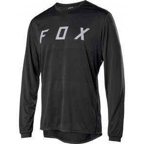 Koszulka Rowerowa Fox Z Długim Rękawem Ranger Fox Black