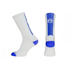 Skarpetki ACCENT Stripe Long biały/niebieski