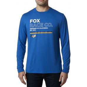 Koszulka Fox Z Długim Rękawem Analog Tech Royal Blue