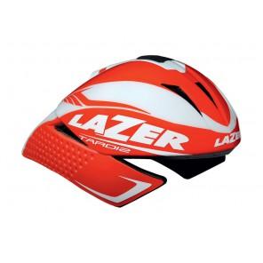 Kask czasowy LAZER TARDIZ L solid red glossy white mat 58-61 cm  [c]