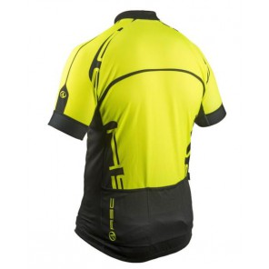 Koszulka AUTHOR MEN SPORT X4 żółto-czarna XXXL