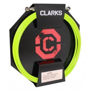 Przewód hamulca hydraulicznego CLARK'S HAYES z końcówkami (2szt. Przód, Tył) zielony