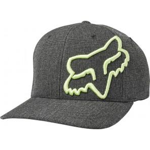 Czapka Z Daszkiem Fox Clouded Flexfit Black/green S/m