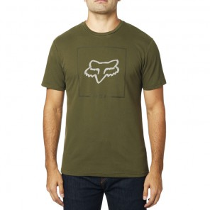 T-shirt Fox Chappedairline Olive Green