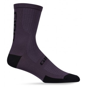 Skarpety GIRO HRC + MERINO WOOL dusty purple black roz. M (40-42) (NEW) (GIRO STUDIO 2)