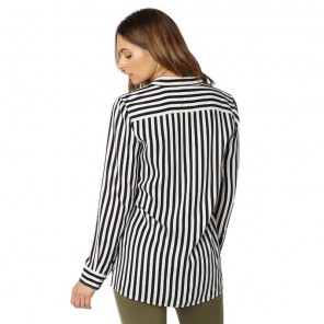 Koszula Fox Lady Jail Break Woven Black/white L