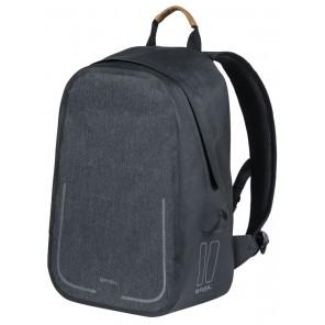 Plecak BASIL URBAN DRY BACKPACK 18L, mocowanie na haki Hook-On System, grafitowy (NEW)