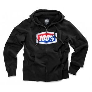 Bluza męska 100% OFFICIAL Hooded Zip Sweatshirt Black roz. XL (NEW)
