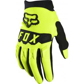Rękawiczki FOX Junior Dirtpaw żółty