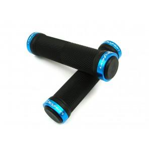 Chwyty Bicyklon lock-on jasno-niebieskie