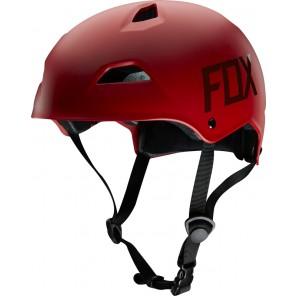 Fox 2016 kask flight hardshell -czerwony-L