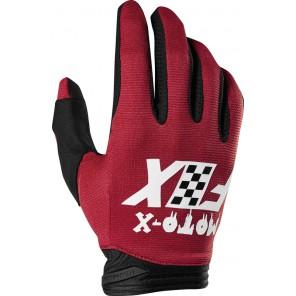 FOX DIRTPAW CZAR rękawiczki-czerwony-M