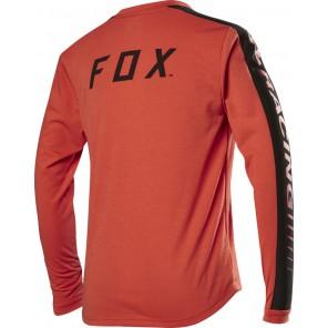 Koszulka Rowerowa Fox Junior Z Długim Rękawem Ranger Dr Orange Crush