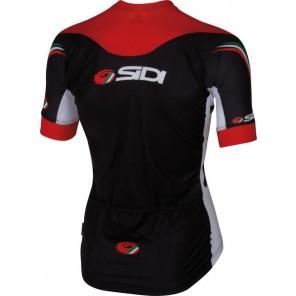 Koszulka DINO TRE czarno-czerwono-biała XL