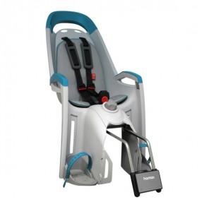 Hamax Fotelik row. AMAZE szaro-niebieski, szara wyściółka (mocowanie z kluczykiem)
