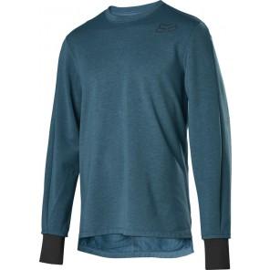 Koszulka Rowerowa Fox Z Długim Rękawem Ranger Thermo Maui Blue