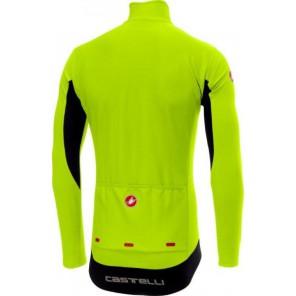 Bluza kolarska Perfetto, żółty fluo, rozmiar XL