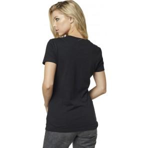 T-shirt Fox Lady Drifter Black