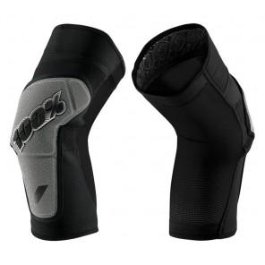 Ochraniacze na kolana 100% RIDECAMP Knee Guard black grey