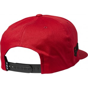 Czapka Z Daszkiem Fox Drive Train Snapback Chili Os
