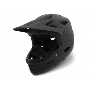 Giro 2018 Switchblade Integrated Mips kask matte black gloss black-S