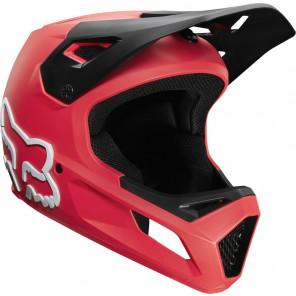 FOX Kask Rowerowy  Rampage Bright Red