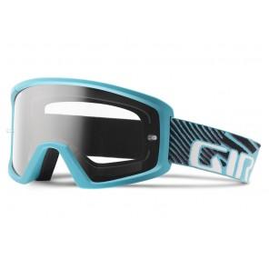 Gogle GIRO BLOK glacier blue (Szyb kolorowa GREY COBALT 10% S3 + Szyba Przeźroczysta 99% S0) mocowanie pod zrywki +10 zrywek