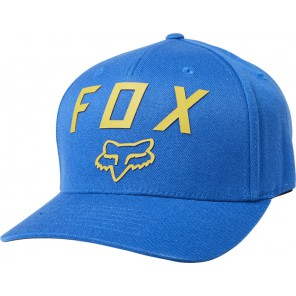 Czapka Z Daszkiem Fox Number 2 Flexfit Royalal Blue L/xl