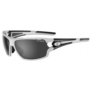 Okulary TIFOSI AMOK white black (3szkła  15,4% Smoke, 41,4% AC Red, 95,6% Clear) (NEW)